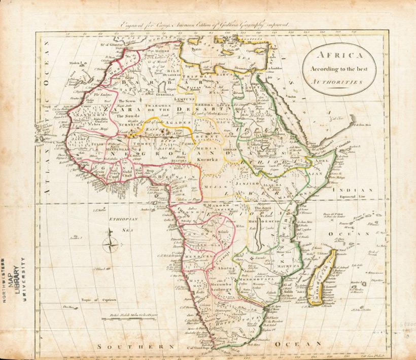 Английская карта 1795 года
