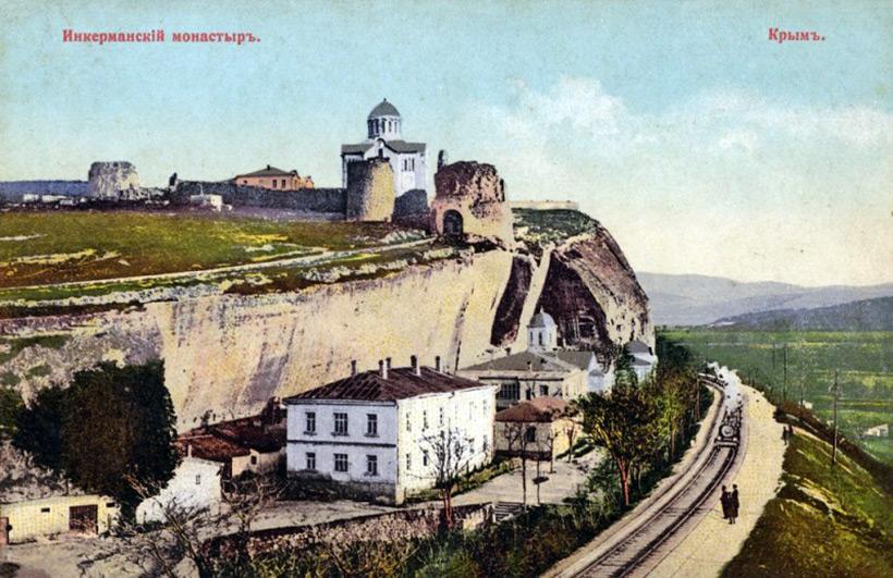 Крымский карьер по добыче известняка до революции 1917