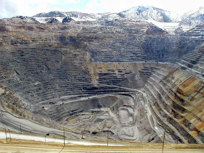 Медные рудники, Kennecott, Utah, USA