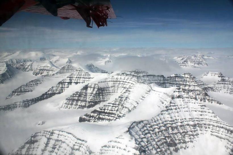 Гренландия. Горы Воткинса
