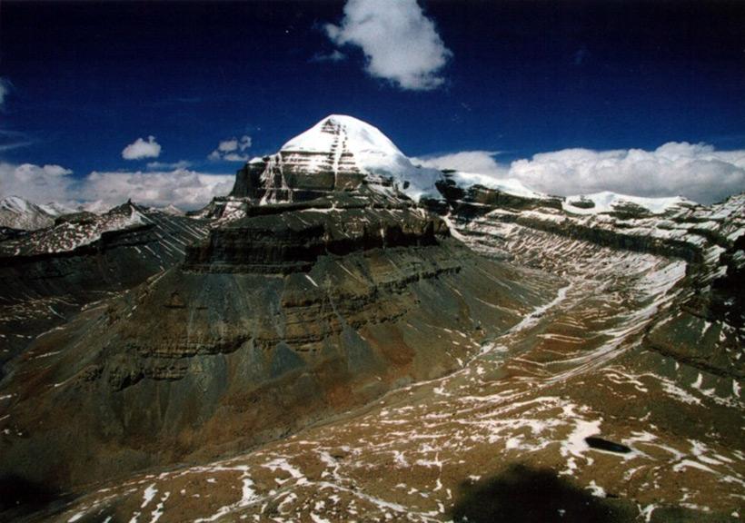 Гора Кайлас. Тибет. Высота 6638 метров