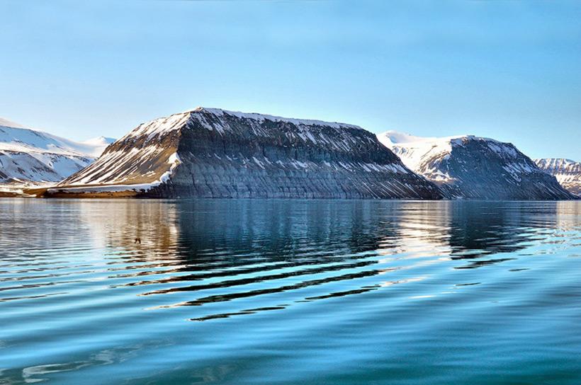 Карьер - Скалы архипелага Шпицберген