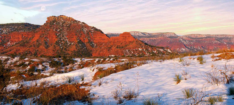 Caprock Canyons State Park Texas, USA