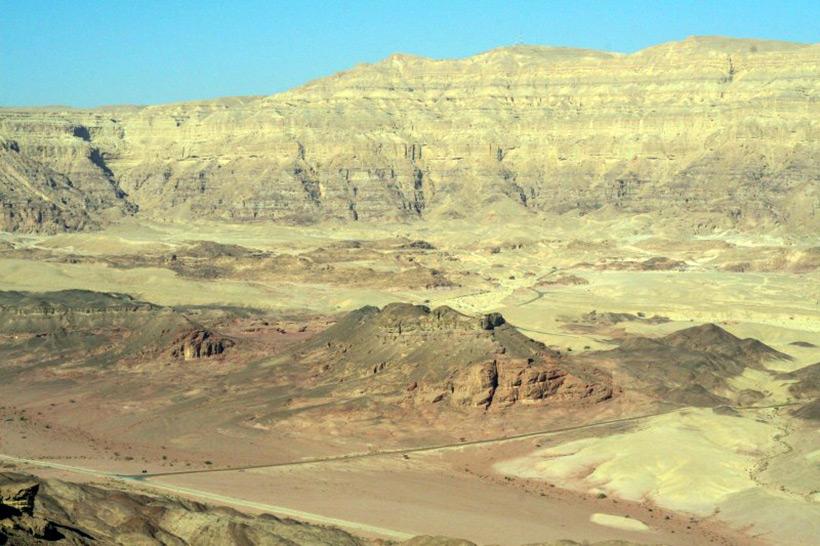 Timna national park in Israel. Карьер Тимна в Израиле