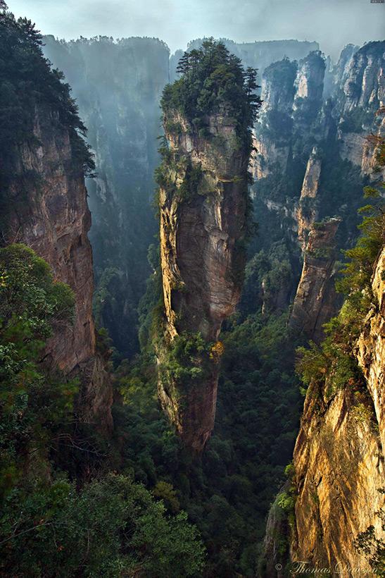 Карьер Зеленый каньон в Китае