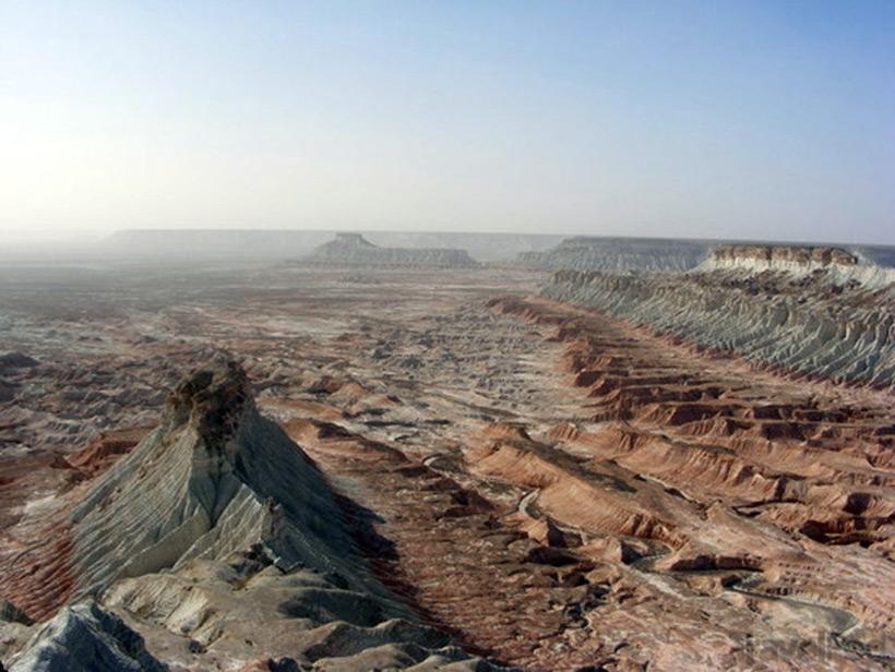 Каньон Янгикала. Туркменистан