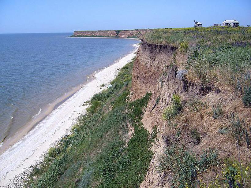 Азовское море. Затопленный старый карьер