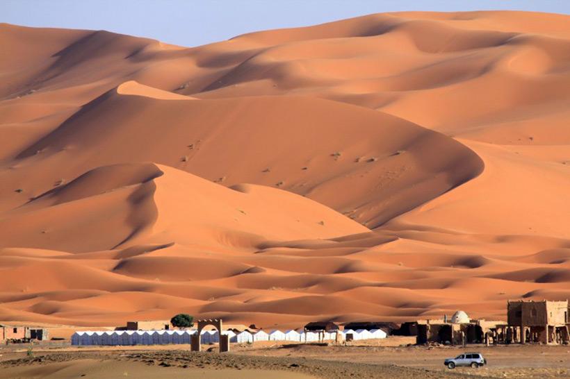 Пески пустыни