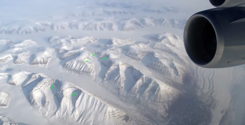 Гренландия. Рейс Франкфурт-Лос-Анджелес