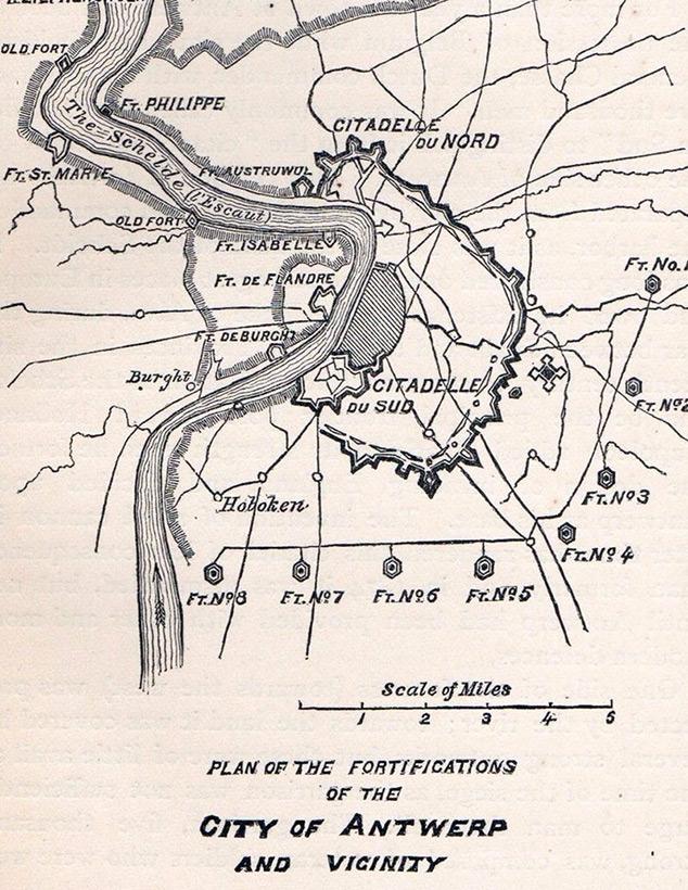 План Антверпена