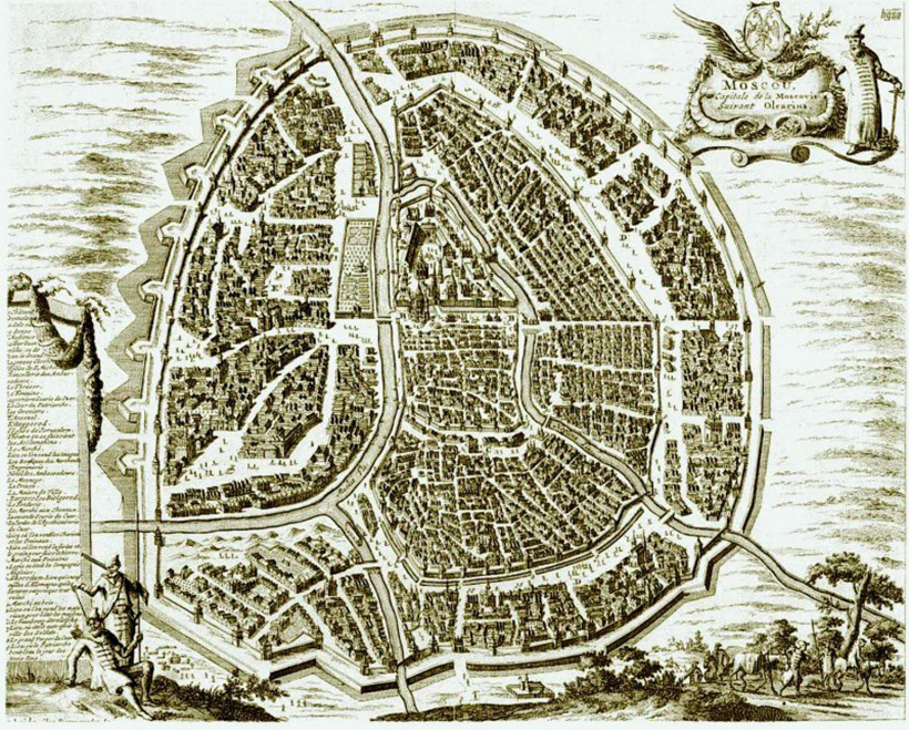 Москва, 17 век