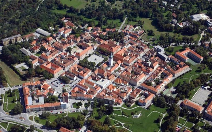 Город Karlovac (Хорватия) в наше время