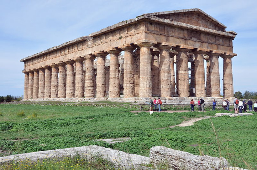 Храм Посейдона, Италия