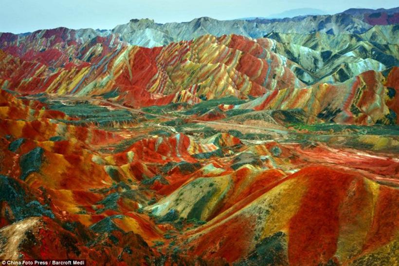 Геологический парк Китая - Данься
