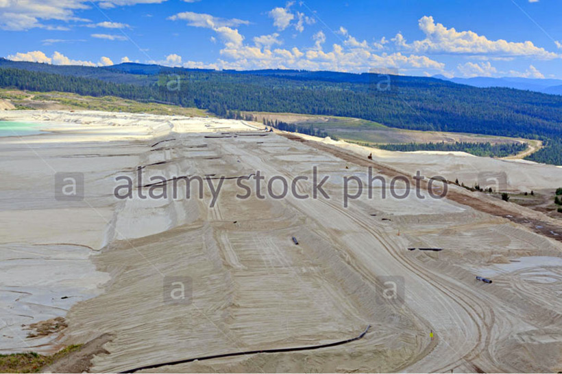 Сооружение дамбы шламонакопителя Highland Valley Copper EYNAKR