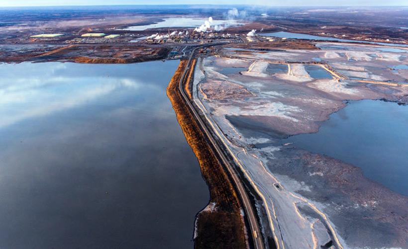 Alberta Tar Sands Tailings Pond