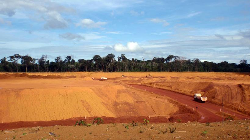 Бокситовые рудники Alcoa
