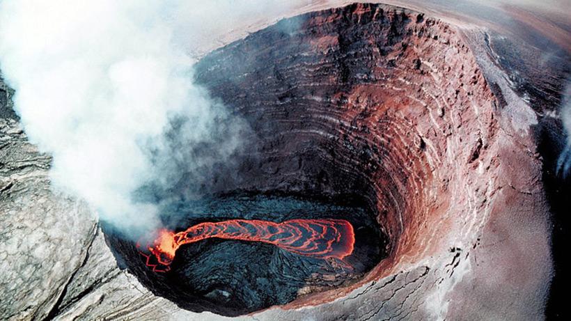 Вулкан-террикон Ньямлагира