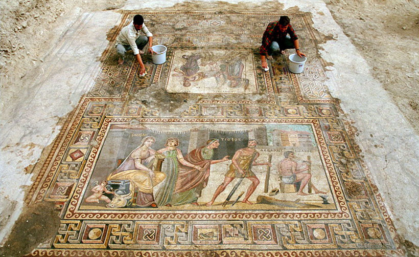 Раскопки города Зевгма