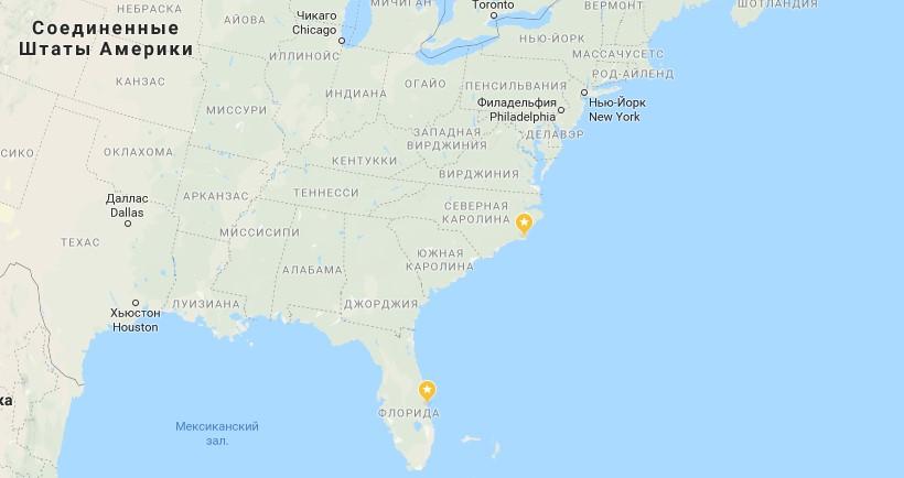 Странное двойное НЛО замечено в Северной Каролине в ноябре 2018 года