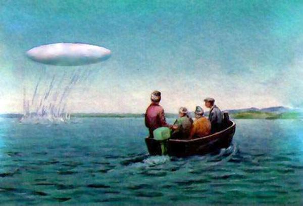 НЛО над Кроноцким озером