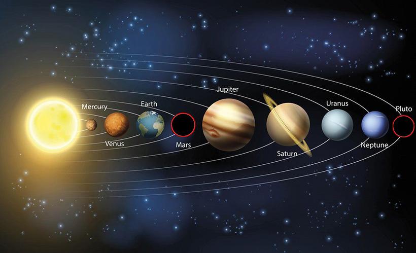 Третье послание КОН об исчезновении Марса и Плутона