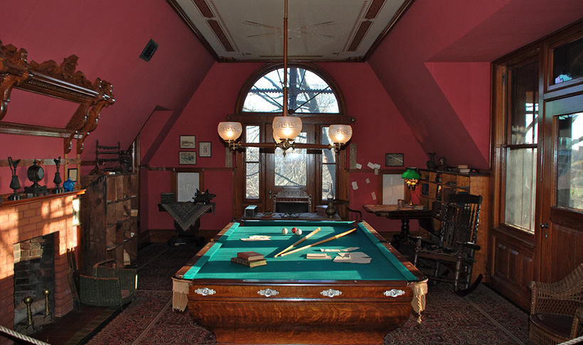 В историческом особняке Марка Твена живут привидения