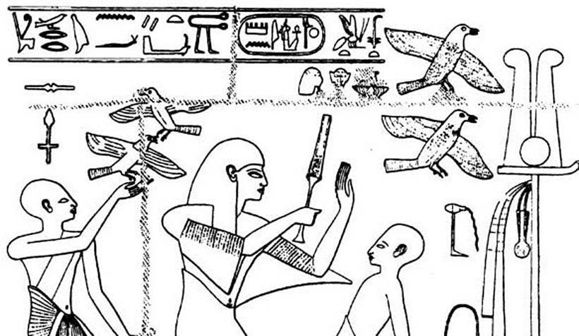 Голубиная почта в Древнем Египте