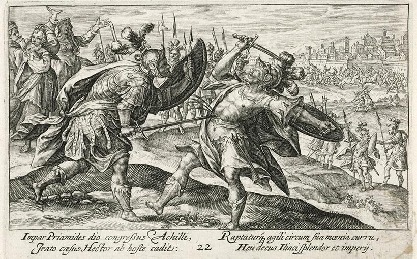 Ахиллес убивает Гектора