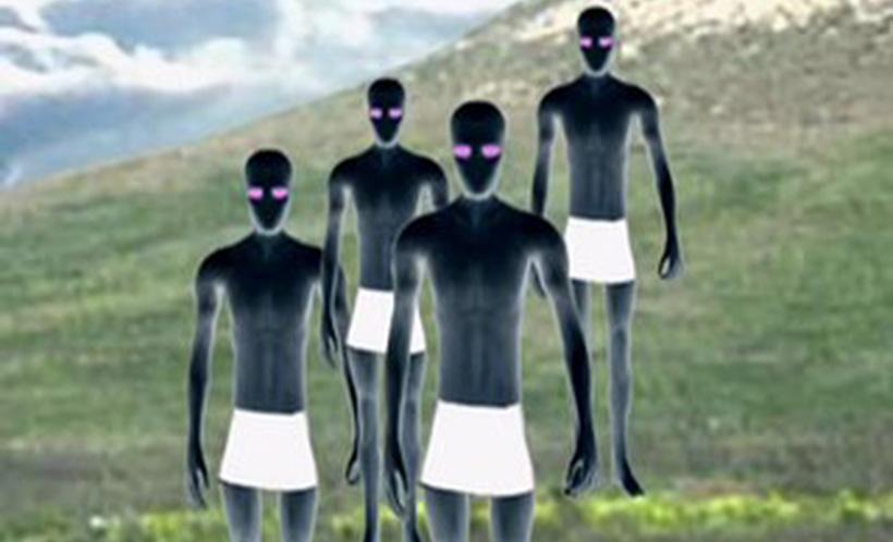 Контакт с инопланетянами в Державинске