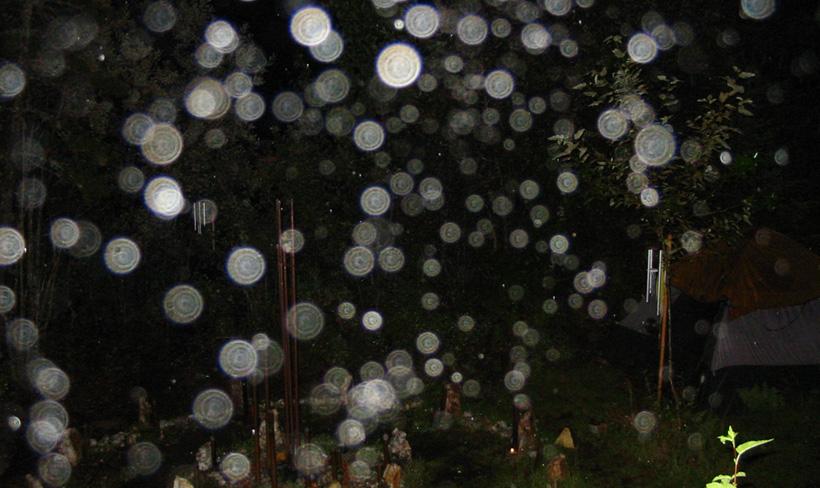 Скопление плазмоидов в районе посёлка Окунево