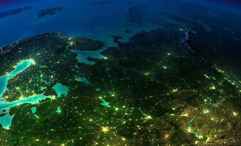 Энергетическая глобальная сеть энергообмена Земли с космосом