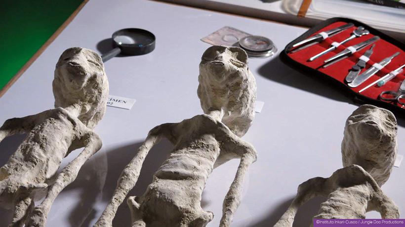 Инопланетные мумии из Перу: объекты изучения