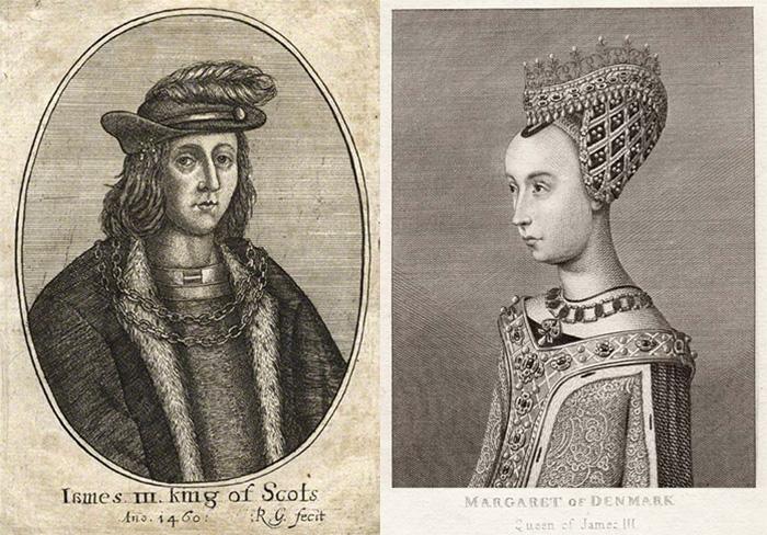 Яков III и Маргарита Датская