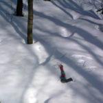 Свидетельство странных следов на снегу в ...