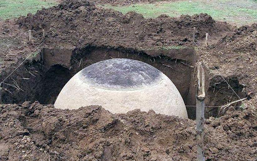 Найден сферический камень в Коста-Рике