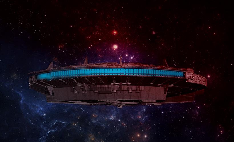 Звездолёты внеземных цивилизаций